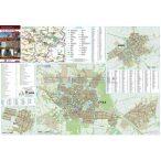Gyula-Sarkad-Elek fémléces térképe