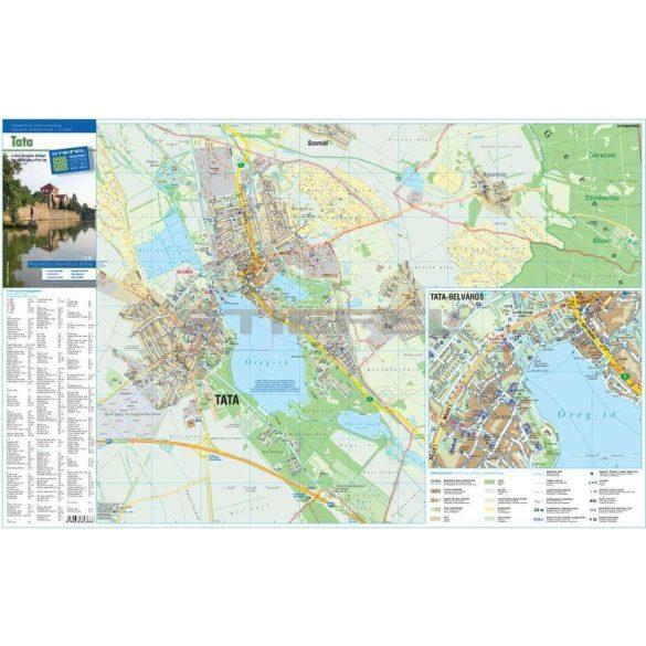 Tata város térképe hajtott