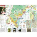 Tokaj és a Tokaji borvidék térképe tűzhető, keretes