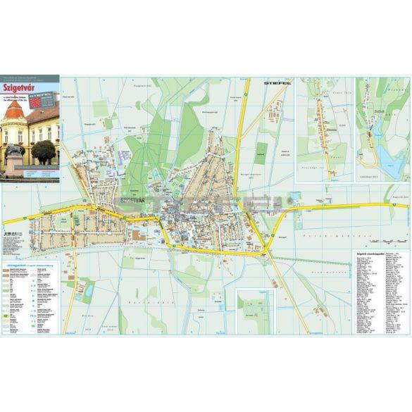 Szigetvár térkép hajtott
