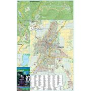 Gyöngyös térkép tűzhető, keretezett térkép
