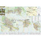 Szarvas, Gyomaendrőd, Kondoros és Békésszentandrás térkép, keretezett