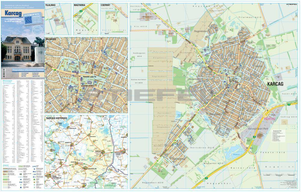 karcag térkép Karcag várostérképe