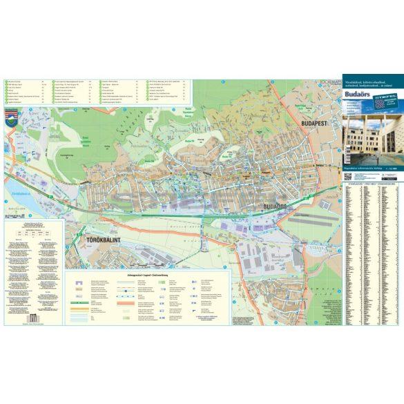 Budaörs, Budakeszi, Törökbálint hajtott térkép