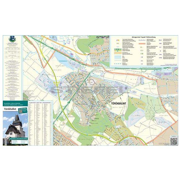 Törökbálint várostérkép (hajtogatott)
