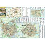Balmazújváros-Hajdúszoboszló-Nagyhegyes fémléces térkép