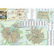 Balmazújváros-Hajdúszoboszló-Nagyhegyes keretezett térképe