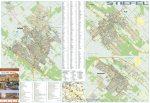 Monor,Pilis,Albertirsa térkép, fémlécezett