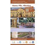 Monor, Pilis, Albertirsa hajtogatott térképe