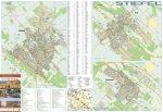 Monor, Pilis , Albertirsa  térkép, keretezett, tűzhető