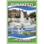 Dunakeszi város térképe hajtogatott