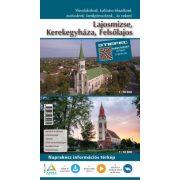 Lajosmizse-Kerekegyháza-Felsőlajos hajtogatott térképe