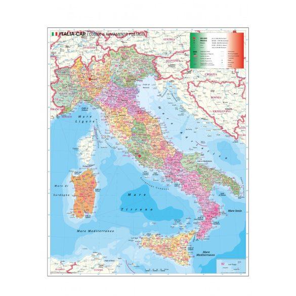 Olaszország irányítószámos térképe