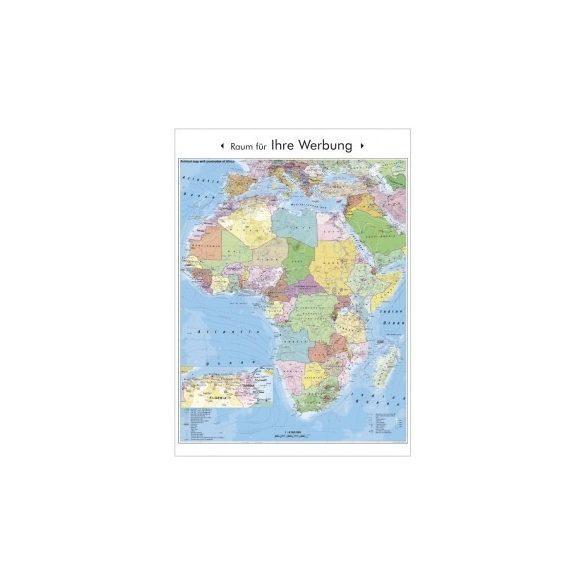 Afrika politikai és irányítószámos térképe