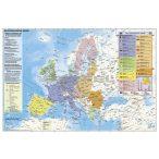 Az Európai Unió (német nyelvű) térképe, tűzhető, keretes