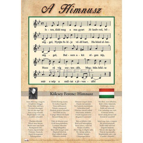 Himnusz könyöklő A3 méretben