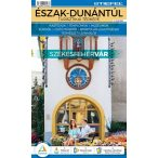 Észak-Dunántúli hajtogatott turisztikai térkép
