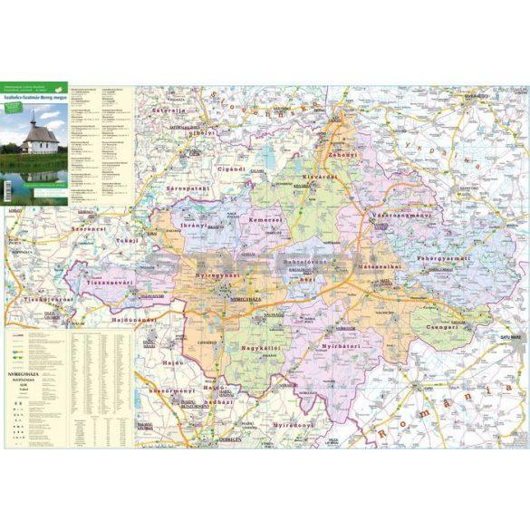 Szabolcs-Szatmár-Bereg megye fémléces 140x100