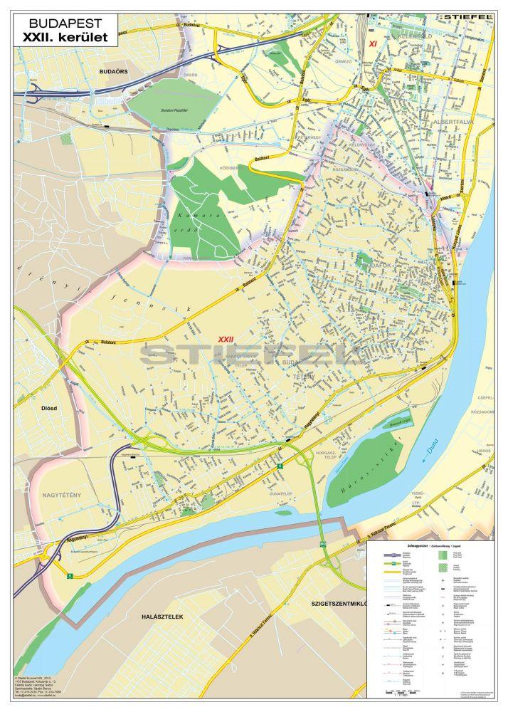 Budapest Kerulet Terkepe Femleces Mindentudas Boltja