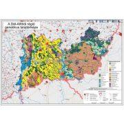 Dél-Alföldi régió genetikus talajtérképe fémléces