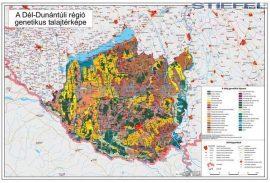 Dél-Dunántúli régió genetikus talajtérképe