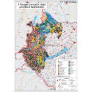 Nyugat-Dunántúli régió genetikus talajtérképe fémléces