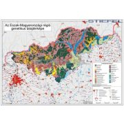 Észak-Magyarország régió genetikus talajtérképe fémléces