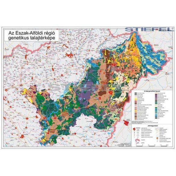 Észak-Alföldi régió genetikus talajtérképe