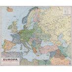 Európa politikai térképe, fakeretben (1941)