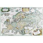 Antik Európa térkép könyöklő