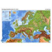 Európa domborzata + Európa vaktérképpel fixi tanulói munkalap