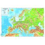 Európa domborzat könyöklő
