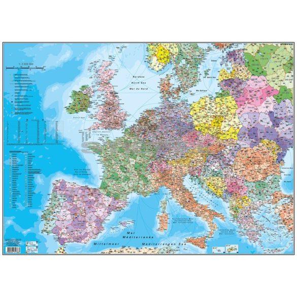 Európa irányítószámos könyöklő