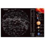 Csillagok csillagképek és bolygók falitabló