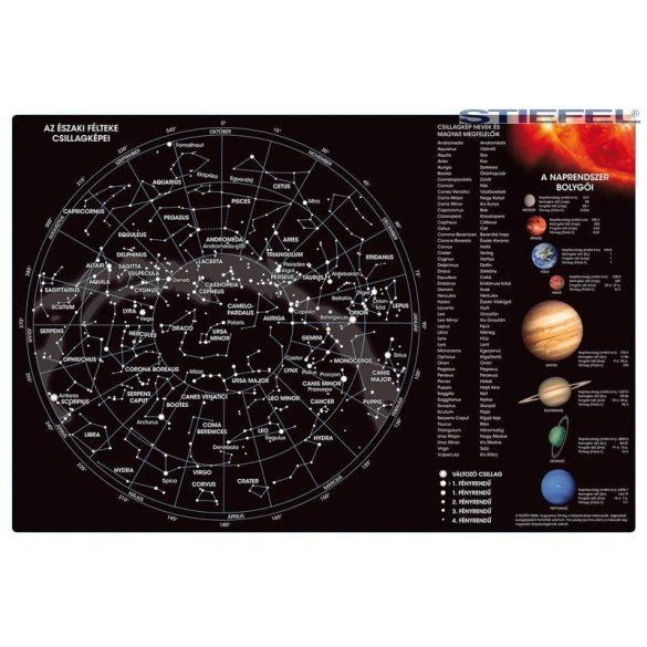 Csillagok csillagképek és bolygók könyöklő