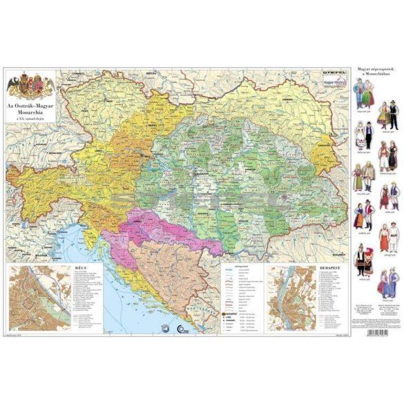 Osztrák-Magyar Monarchia mini falitérkép