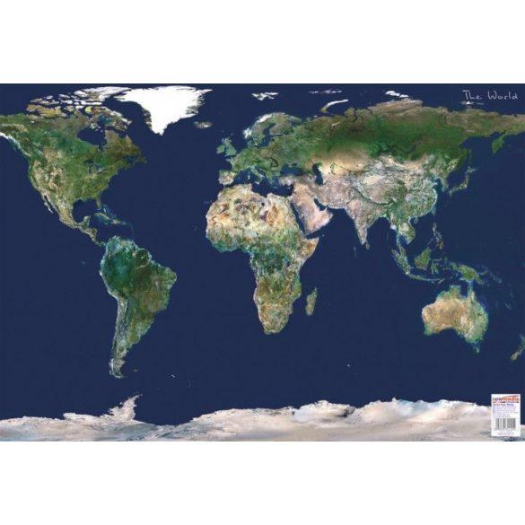 Föld űrtérkép könyöklő