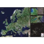 Európa űrtérkép könyöklő
