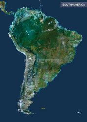 Dél-Amerika a világűrből