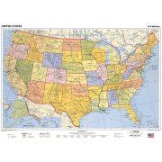 USA könyöklő politikai/domborzat duó
