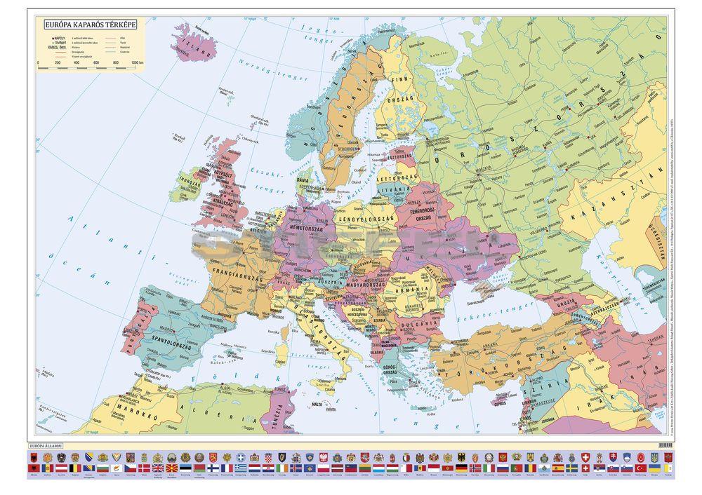 Kaparos Europa Terkep Femleces