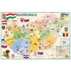 Gyerek Magyarország közigazgatása / domborzata könyöklő