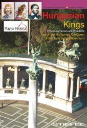 A magyar királyok (angol nyelvű) hajtogatott tabló