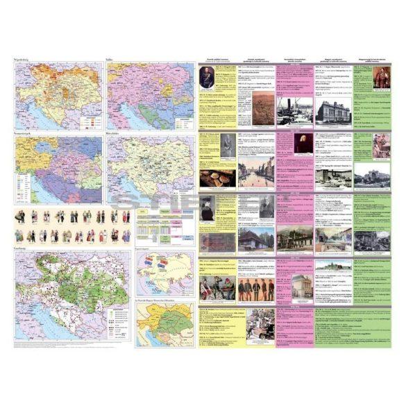 Az Osztrák-Magyar Monarchia fémléces térkép
