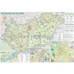 Magyarország wellness térkép fémléces