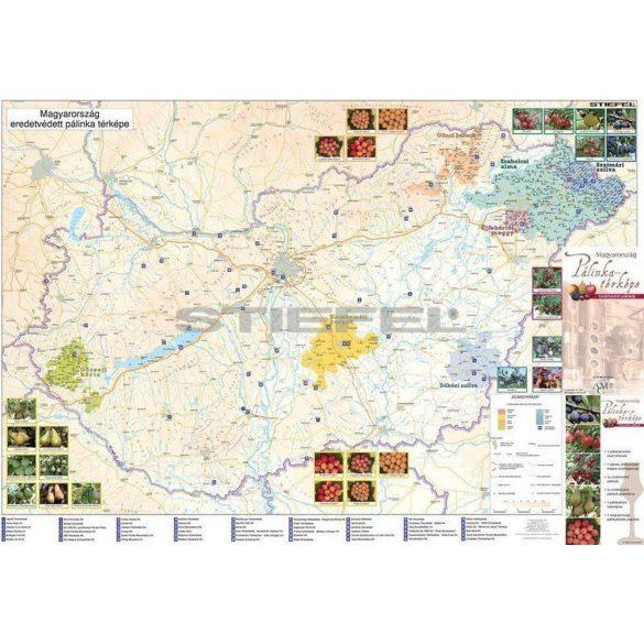 Magyarország pálinkatérképe, hajtott