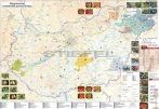 Magyarország pálinkatérképe keretezett, tűzhető