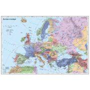 Európa országai, tűzhető, keretezett térkép