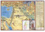 Képes térkép az Ószövetséghez magyar nyelvű fémléces
