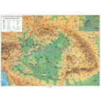 Magyar történeti emlékek a Kárpát-medencében fémléces térkép